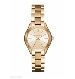 Michael Kors - Mini Slim Runway Goldtone Three-Hand Watch
