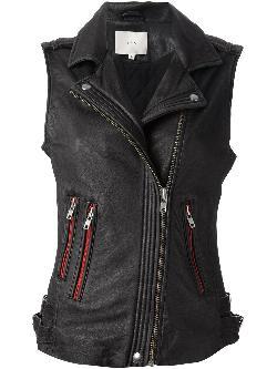 IRO  - sleeveless biker jacket