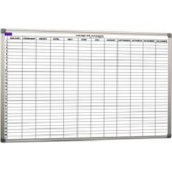 Commercial Traders - CUSTOM GRIDDED WHITEBOARD - 900 X 900