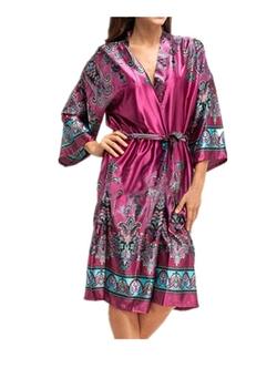 Leright -  Floral Kimono Robe