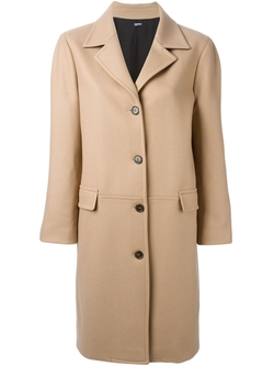 Jil Sander Navy   - Single Breasted Coat