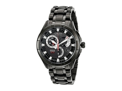 Citizen - Ion-Plated Stainless Steel Watch