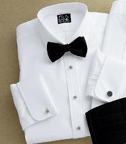 Jos. A. Bank - Signature Royal Oxford Point Collar Formal Dress Shirt