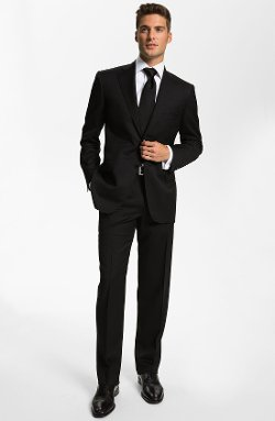 Canali - Classic Fit Wool Suit