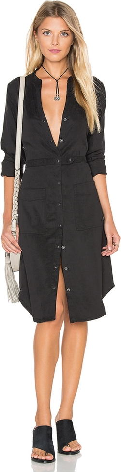 Michael Stars - Utilitarian Shirt Dress