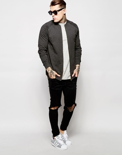 Asos - Sweat Bomber Jacket