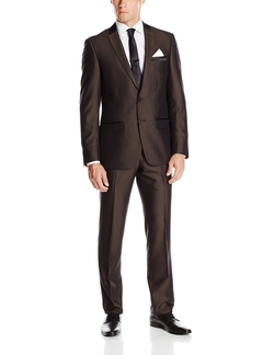Andrew Fezza - Slim Fit Suit Dark Brown