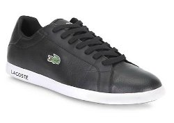Lacoste  - Casual Leather Lace-Up Sneakers