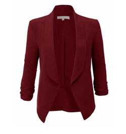 RubyK - Draped Tuxedo Blazer
