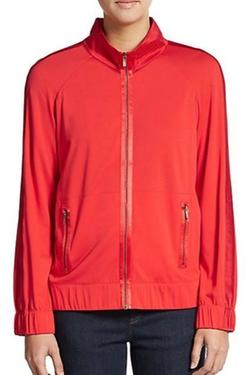 St. John  - Spa  Jersey Zip Track Jacket