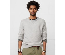 Denim & Supply Ralph Lauren  - French Terry Pullover Sweater