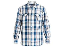 Quiksilver  - Waterman Cedar Island Plaid Flannel Shirt