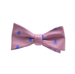 Summer Ties - Printed Silk Bow Tie