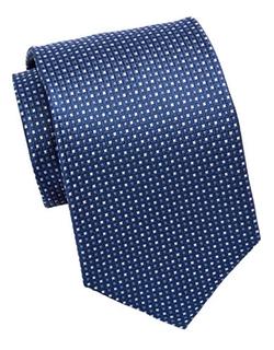 Burma Bibas - Silk Micro Square Tie