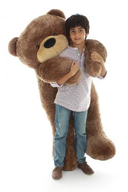 Giant Teddy - Sunny Cuddles Soft and Huggable Jumbo Teddy Bear
