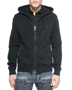 Belstaff - Headley Zip-Up Hoodie Jacket