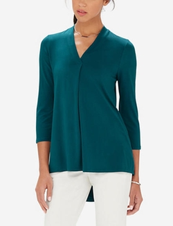 The Limited - Drapey V-Neck Top