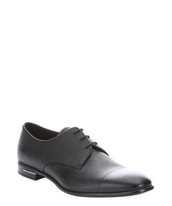 Prada  - Saffiano Leather Lace-up Derby Oxford Shoes
