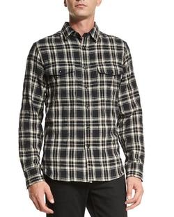 Rag & Bone - Jack Plaid Button-Down Shirt