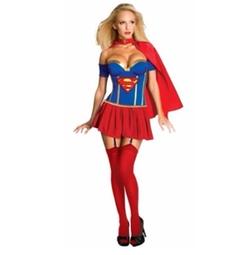 Secret Wishes  - Supergirl Corset Costume
