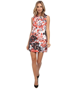 Red Valentino - Abstract Flower Print Dress