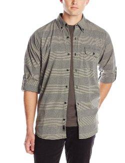Burnside  - Stripe Long Sleeve Shirt