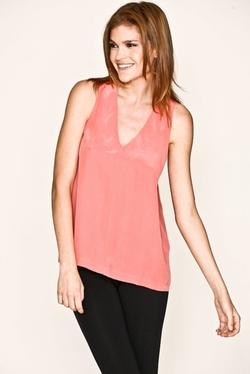 Joie Edam - Flamingo Silk Tank