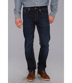 Fresh Brand  - Jaimy B High Low Contrast Blast Denim Jeans