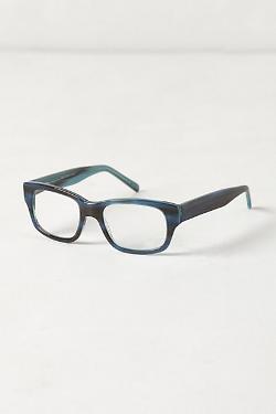 Anthropologie - Marble Stripe Reading Glasses