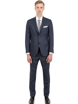 Brioni - Wool And Silk Blend Suit