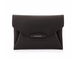 Givenchy - Antigona Leather Evening Envelope Clutch Bag