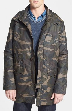 Cole Haan  - Washed Military Parka