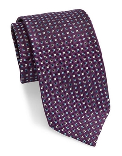 Brooks Brothers  - Fleece Patterned Silk Tie