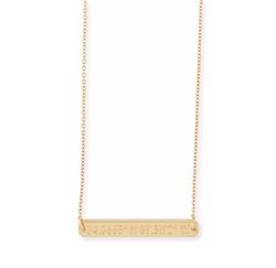 Coordinates Collection - Legend Engraved Pendant Necklace
