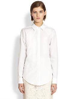 Tome  - Tie-Back Shirt