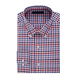 Tommy Hilfiger - Check Pattern Dress Shirt