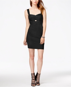 Guess - Sleeveless Cutout Bodycon Dress