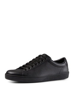 Gucci - Leather Low-Top Sneaker