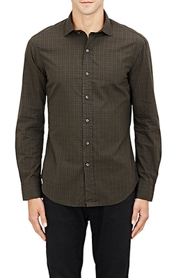 Ralph Lauren Black Label  - Plaid Poplin Shirt