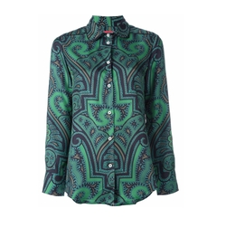 For Restless Sleepers   - Abstract Print Shirt