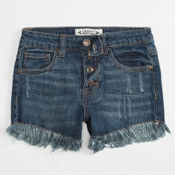 Celebrity Pink - Fray Edge Girls Denim Shorts