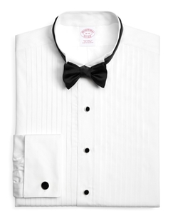 Brooks BRothers - Traditional Fit Ten-Pleat Wing Collar Tuxedo Shirt