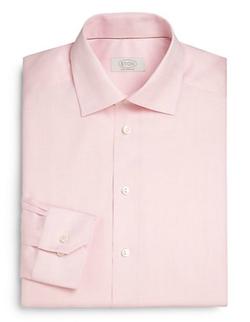 Eton of Sweden - Contemporary-Fit Herringbone Dress Shirt