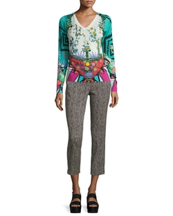 Etro - Arcade-Print Long-Sleeve Sweater