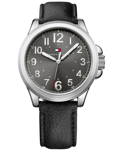 Tommy Hilfiger - Leather Strap Watch