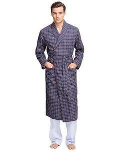 Brooks Brothers - Tattersall Robe