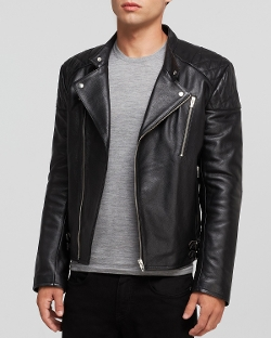 MCQ - Leather Biker Jacket