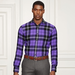 Ralph Lauren - Aston Plaid Cashmere Shirt