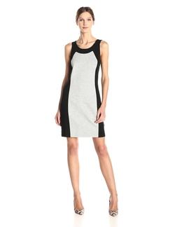 Kensie - Ponte Color-Block Dress