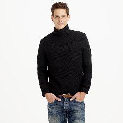 J Crew - Italian Wool-Alpaca Turtleneck Sweater